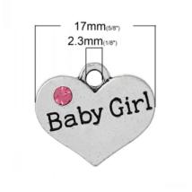 Baby girl fityegő