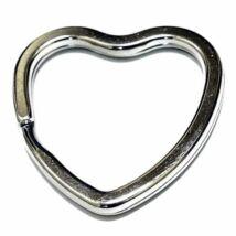 Szív alakú kulcskarika