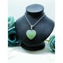 Zöld aventurin ásvány nyaklánc