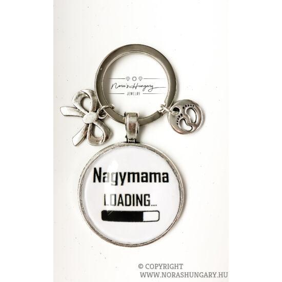 Nagymama -LOADING kulcstartó