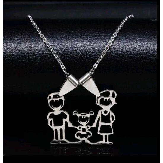 Family nyaklánc - Anya, Apa, Kislány