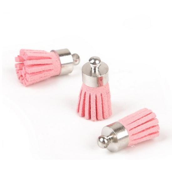 Rózsaszín bojt (csak kulcstartóhoz/ékszerhez rendelhető)