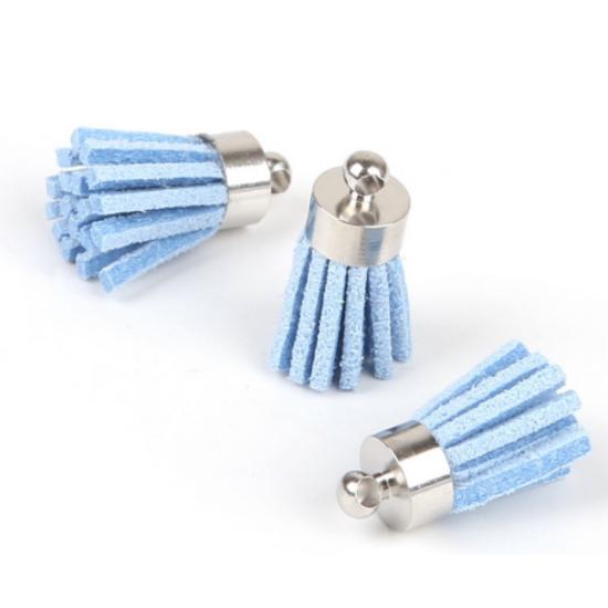 Kék bojt (csak kulcstartóhoz/ékszerhez rendelhető)