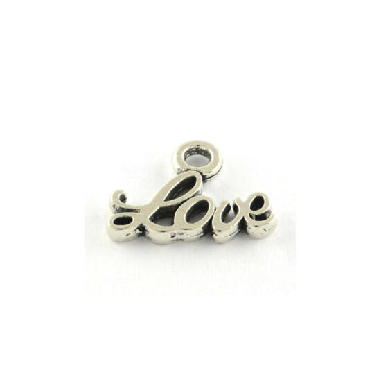 Love feliratos kis fityegő (csak kulcstartóhoz/ékszerhez rendelhető)